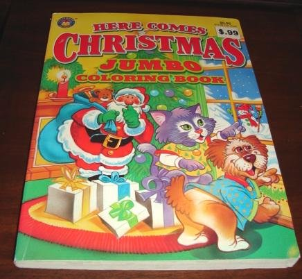 Download Here Comes Christmas Jumbo Coloring Book PDF