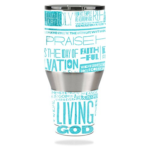 MightySkins Protective Vinyl Skin Decal for Ozark Trail 40 oz Tumbler wrap cover sticker skins Faith by MightySkins