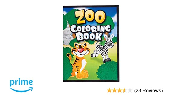 Amazon.com: RINCO FBA_DOMAGRON Novelty Animal Coloring Books: Toys ...