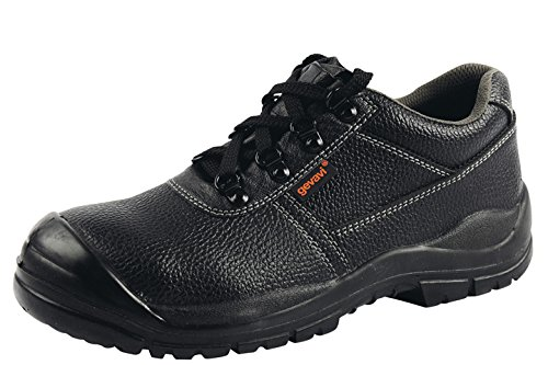 Gevavi Safety Gs0100370 Gs01 Scarpa Semi-alta Di Sicurezza S3, 37, Nera