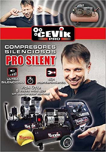 Cevik 6lt 1Hp Pro6/Silent Compressore silenzioso
