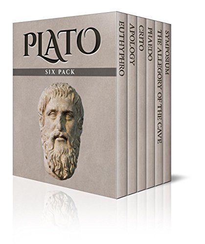 Plato Six Pack (Illustrated): Euthyphro, Apology, Crito, Phaedo, The Allegory of the Cave and Symposium