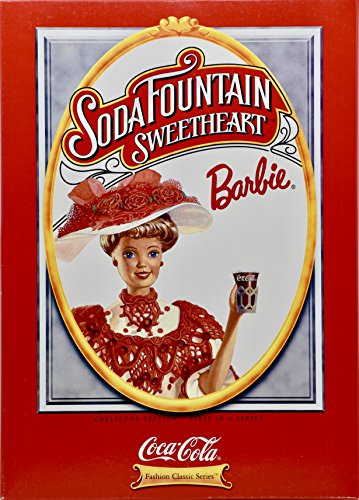 1996 - Mattel - Soda Fountain Sweetheart Barbie - Coca-Cola Fashion Classic Series - Collector Edition/1st in Series - Collectible