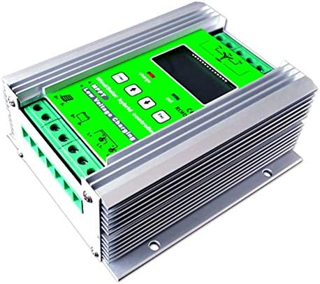 ZJN-JN 800W MPPT Wind Turbine Solarladeregler 500W Windturbine 300W Solar-Laderegler 12V / 24V Auto-Boost-Hybrid-Controller mit freier Dump-Last Solarzubehör Outdoor Power Tools