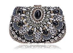 Women Evening Handbags Rhinestone Crystal Clutches Bag wedding party bag purse