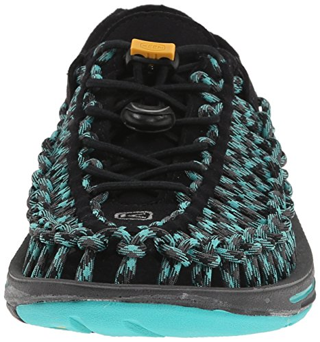 KEEN Women's Uneek 8MM Sandal Black/Lagoon 2014 cheap price Jx5I2vU