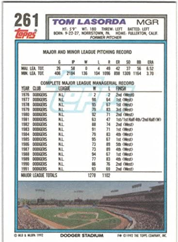 1992 Topps with Traded Los Angeles Dodgers Team Set with Orel Hershiser /& Gary Carter 33 Cards