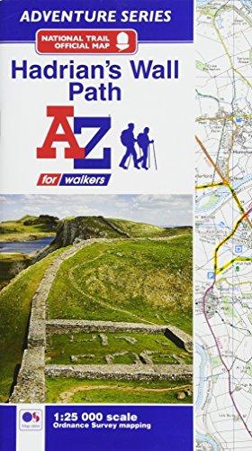 - Hadrian's Wall Path Adventure Atlas 1:25K