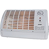 OPTIMUS H-2210 PORTABLE FAN FORCED RADIANT HEATER WITH THERMOSTAT-OPSH2210