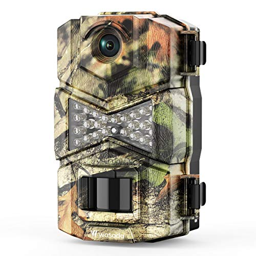 WOSODA Trail Game Camera, 16MP 1080P Waterproof Hunting Scouting Cam for Wildlife Monitoring with...