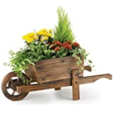 RUSTIC Garden Supplies ornamental Carretilla Tiesto bar5/B