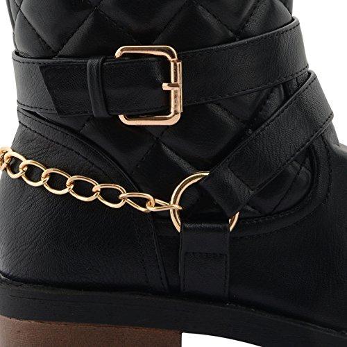 Footwear Sensation - Botas para mujer negro negro negro - Black Chain