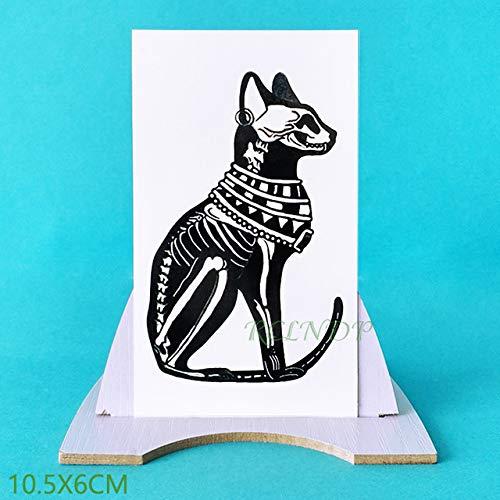 5pcs Tatuaje Impermeable Etiqueta engomada del Gato del Gatito ...