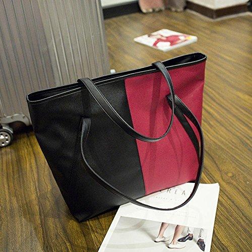 Aoligei Sac à main de femmes mode simple support Package version coréenne de la femme Casual B