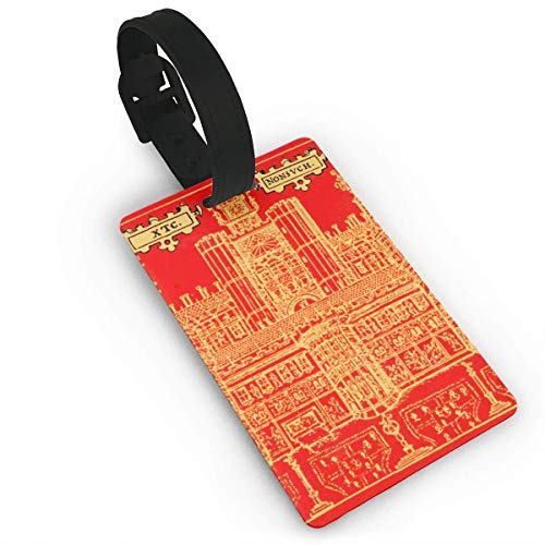 (Luggage Tags Holders for Travel Luggage,Luggage Tags for Suitcases, XTC - Nonsuch Luggage Tags, Bag Tag Travel ID Labels Tag for Baggage Suitcases Bags)