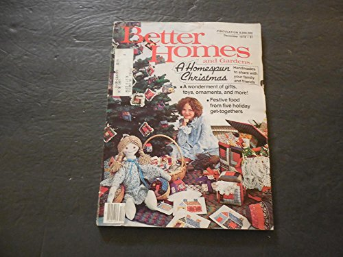 Better Homes and Gardens Dec 1978 Homespun Christmas; Ornaments