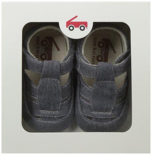 Gray Run Jude See Canvas Sandal Boys' Kai fq8A8wxTR