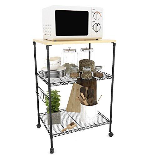 dorm microwave cart - 4