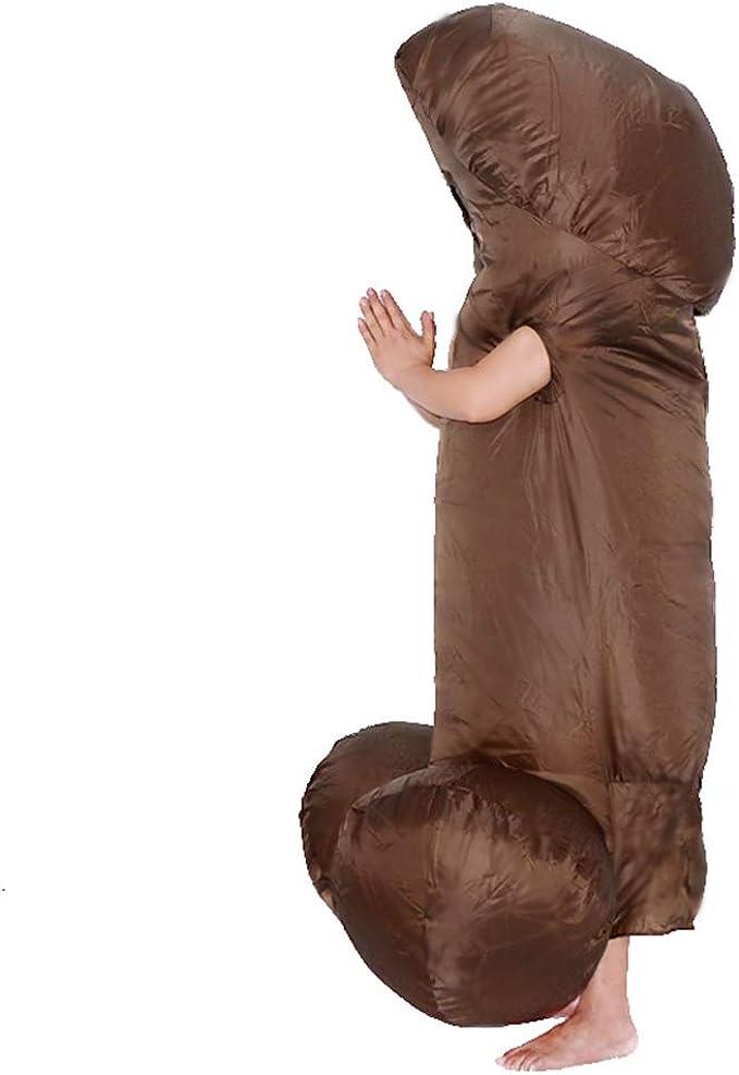Amazon.com: Disfraz de pene inflable para hombre para una ...