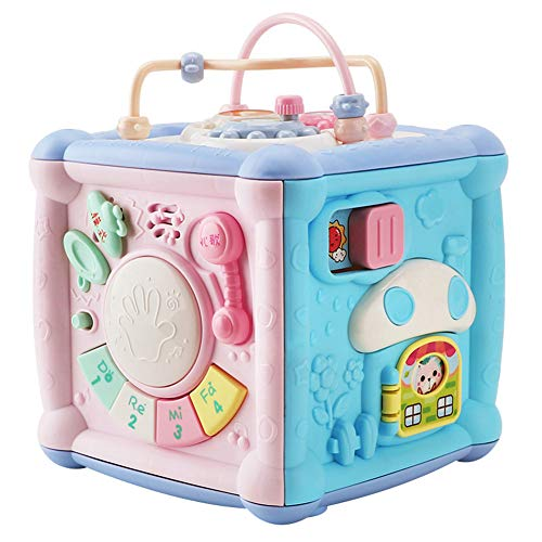 Sendgo Multifunction Game Box Toy with Telephone Drum Music Light for Kids Toddler Educational