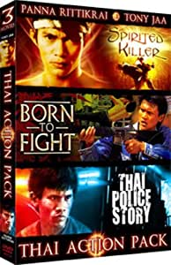 Thai Action Pack (Spirited Killer/Born To Fight/Thai Police Story)