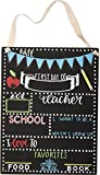 Primitive by Kathy First Day of School Chalkboard Sign (8 x 10.5)