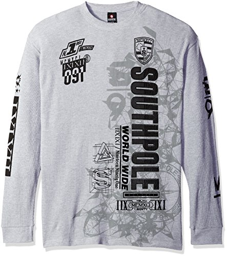 Southpole Sleeve Flock Screen Graphic