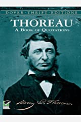 Thoreau's Book of Quotations (Dover Thrift Editions) Kindle Edition