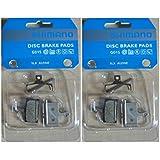 Shimano g01S resin 2 paires de plaquette disc pad revêtements sLX lRM666 xTR m985 xT 785