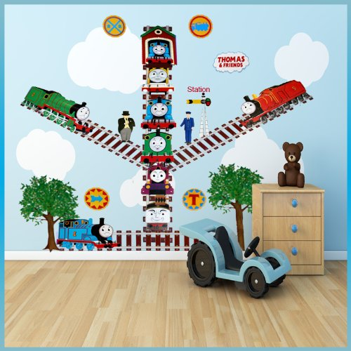 Thomas The Tank Engine Wall Stickers Decor Decal Art For Kids Nursery  Bedroom, Childs Room