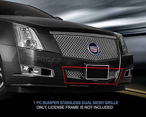 (Fedar Lower Bumper Dual Weave Mesh Grille for 2008-2013 Cadillac CTS Selected Models)