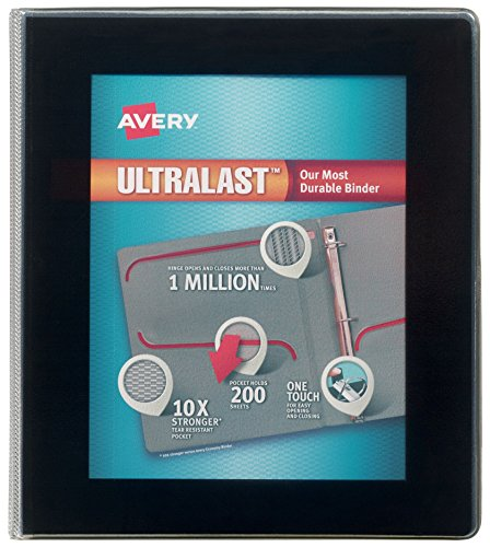 Avery Binders 3 Ring (Avery Ultralast Binder with 1