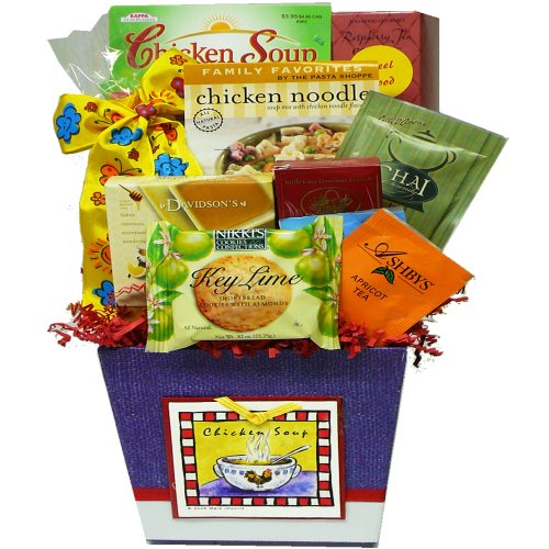 Art of Appreciation Gift Baskets A Taste of Home Chicken Soup Get Well Gift Basket