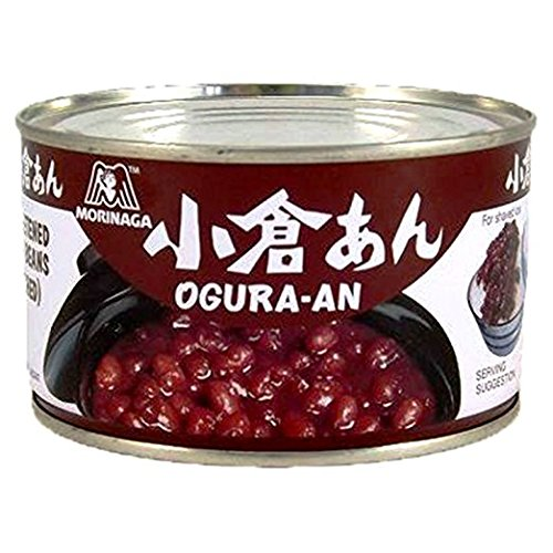 Sweetened Beans Red (Morinaga Ogura An (Sweetened Red Beans) 15.16 Oz.)