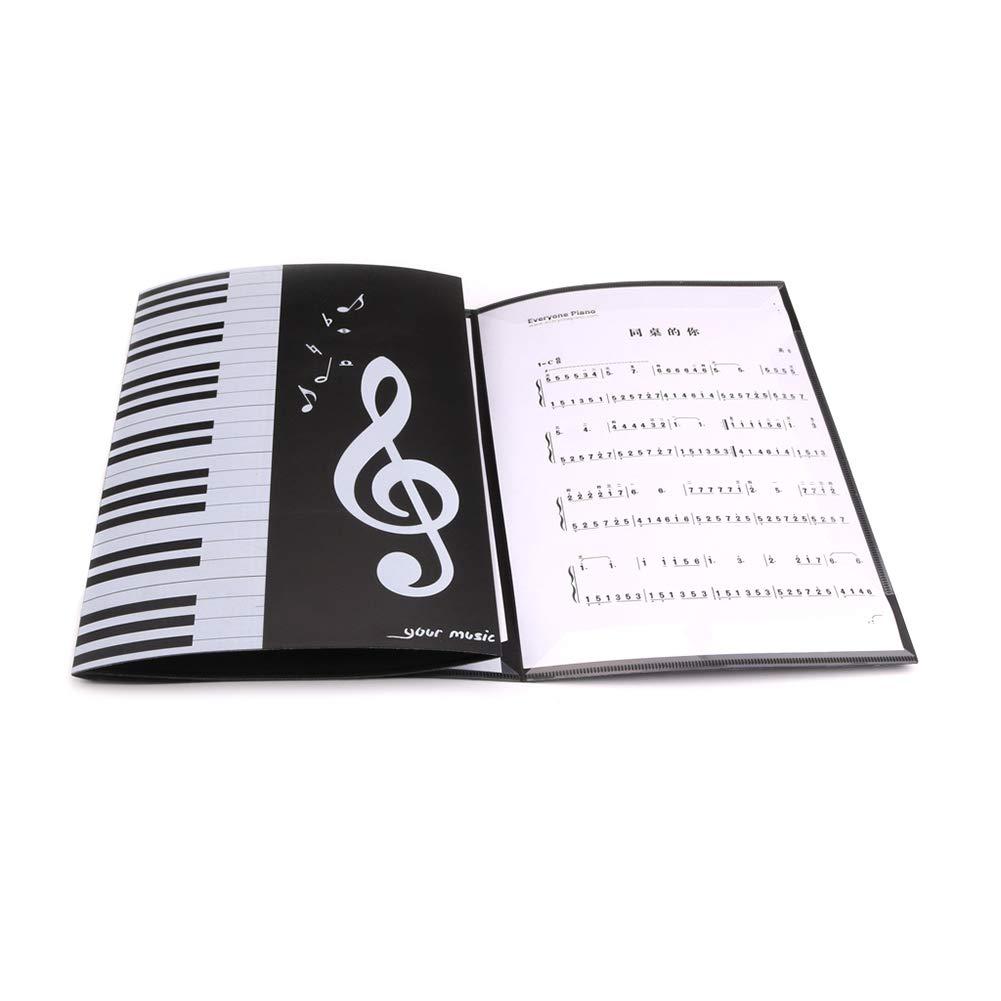 Alextry espanso spartiti punteggio Cartella per Documenti A4/Size Paper Personale Collection