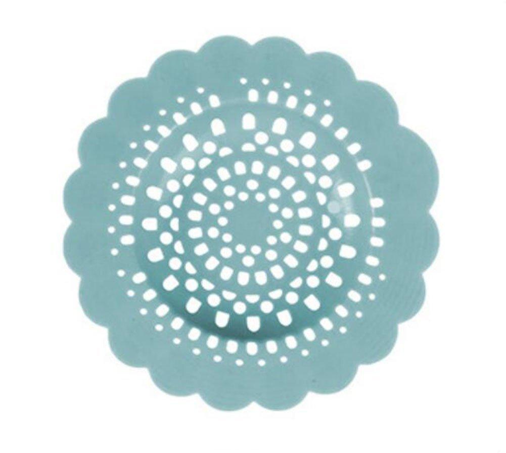 Filtre en silicone adh/érent en forme de fleur pour /évier 12.3 x 12.3 x 0.2 cm douche et lavabo Lumanuby rose PVC