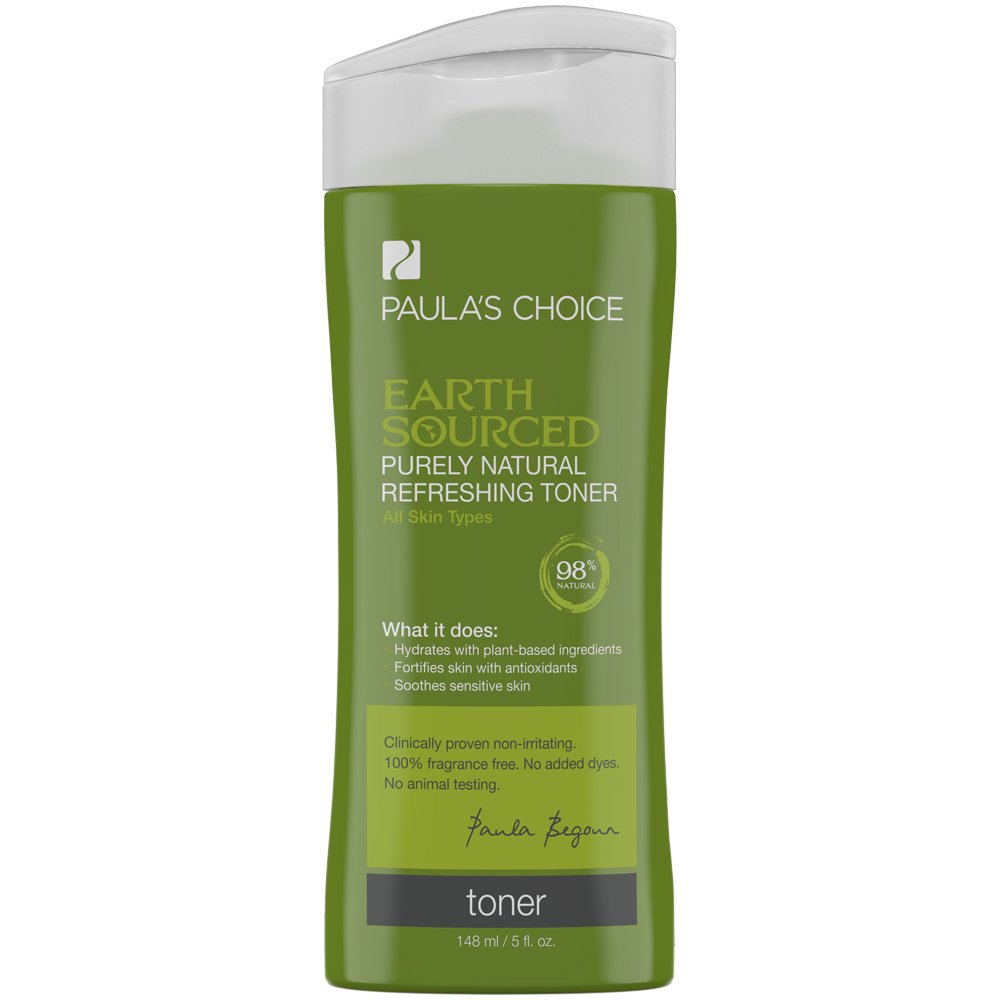 Paula's Choice Earth Sourced Purely Natural Refreshing Toner with Antioxidants for Sensitive Skin 5 oz