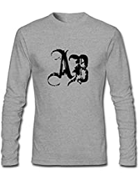 Men's Alter Bridge Logo Long Sleeve T Shirt Grey