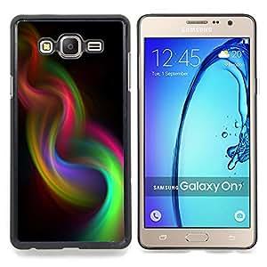 - smoke iridescent weave purple 420 - - Modelo de la piel protectora de la cubierta del caso FOR Samsung Galaxy On7 G6000 RetroCandy
