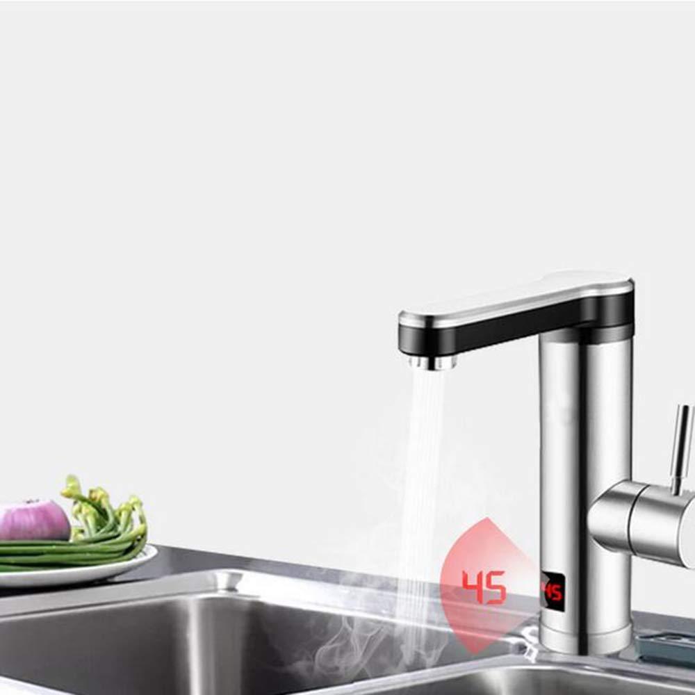 FEE-ZC Christmas Home Kitchen Grifo t/áctil Calentador de Agua Caliente con Ducha el/éctrica Calentador de inducci/ón 220V Calentadores de Agua instant/áneos 06HeaterTap