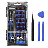 ORIA Screwdriver Set, 64 in 1 Precision Screwdriver Kit with 56 Bits, Magnetic Driver Kit, Professional Repair Tool Kit, Flexible Shaft, for iPhone 8, 8 Plus/Smartphone/ Game Console/Tablet/ PC, etc