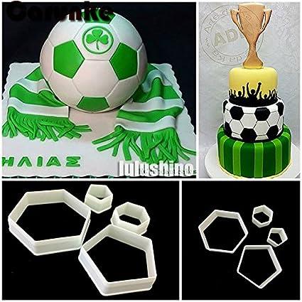 Amazon Com Vhll Cake Molds Football Fondant Cutter Plastic Cutter