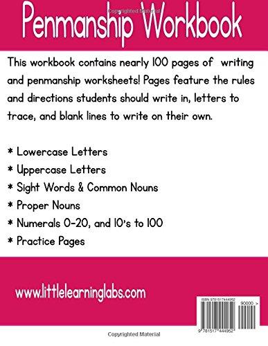 Penmanship Workbook (Little Learning Labs Basic Skills) (Volume 8 ...