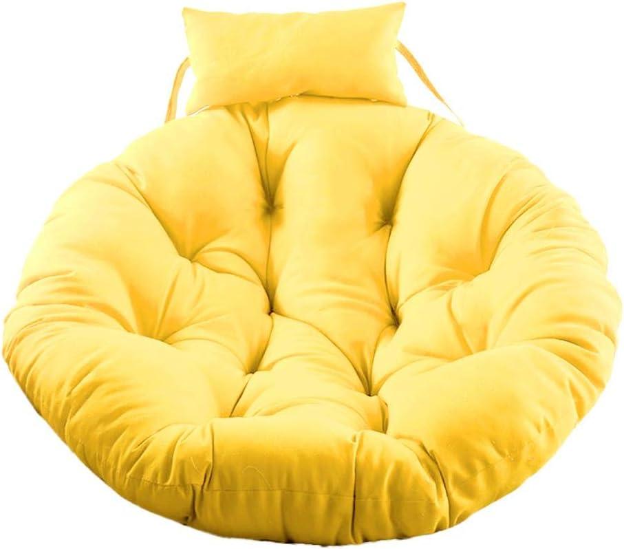 Cuscino per poltrona sospesa singola , Cuscino per cestello sospeso in tessuto in poliestere delicato per la pelle , Tappetino per culla rotondo