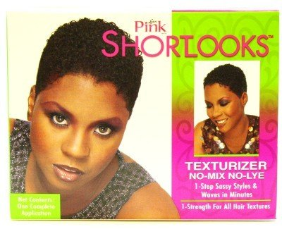 Luster's Pink Shortlooks Kit Texturizer (3-Pack) with Free Nail File