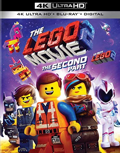 The LEGO Movie 2: The Second Part (4K UHD + Blu-Ray)