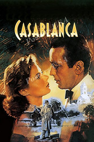 Posters USA - Casablanca Movie Poster GLOSSY FINISH - REL019 (24