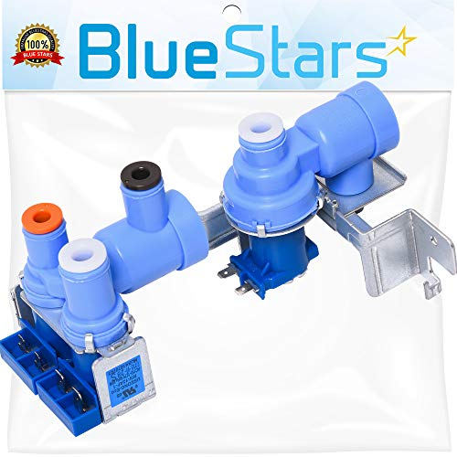 Ultra Durable 5221JA2006D Refrigerator Water Inlet Valve Assembly Replacement Part by Blue Stars - Exact Fit for LG Refrigerators - Replaces AP4445614 MJX42111401 1266849
