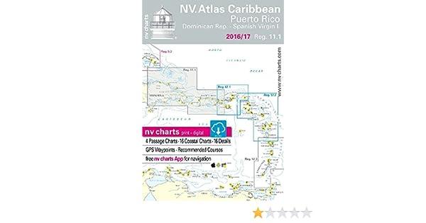 Puerto Rico - Dominican Republic - Spanish Virgin Islands (NV.Charts ...