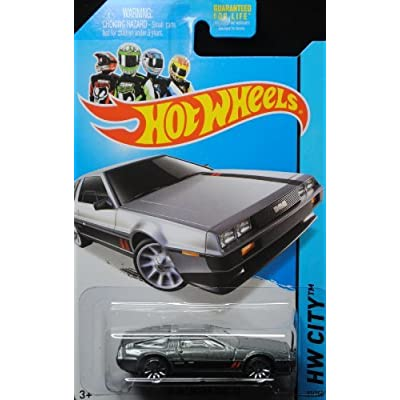 Hot Wheels 2014 '81 Delorean DMC-12 HW City #33/250: Toys & Games